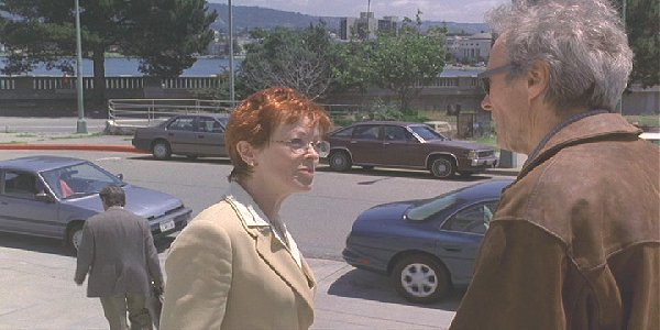 frances fisher and clint eastwood. Frances Fisher is the mother
